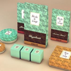 Chocolates día de la mujer