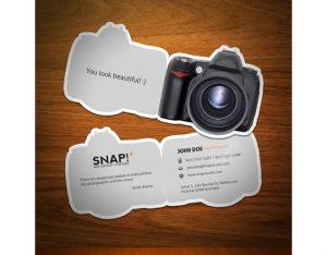 tarjetas - material publicitario creativo